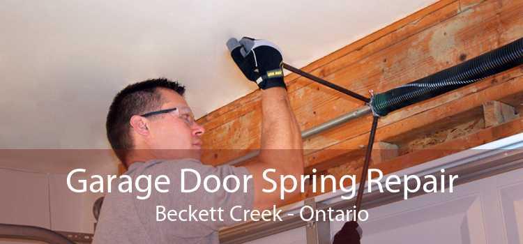 Garage Door Spring Repair Beckett Creek - Ontario