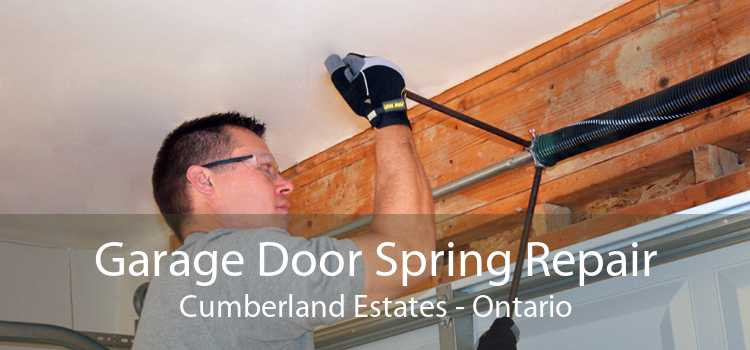 Garage Door Spring Repair Cumberland Estates - Ontario