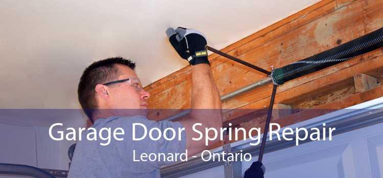 Garage Door Spring Repair Leonard - Ontario