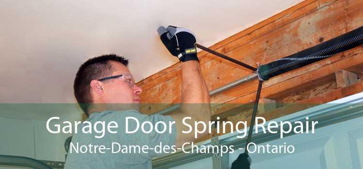 Garage Door Spring Repair Notre-Dame-des-Champs - Ontario