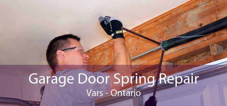 Garage Door Spring Repair Vars - Ontario