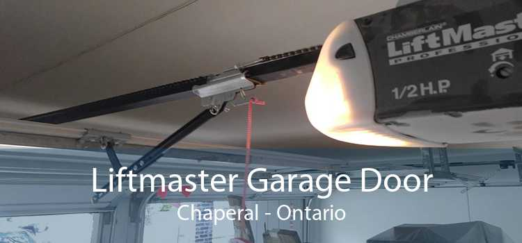 Liftmaster Garage Door Chaperal - Ontario