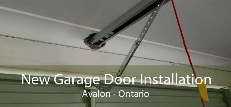 New Garage Door Installation Avalon - Ontario
