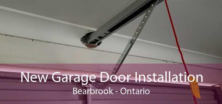 New Garage Door Installation Bearbrook - Ontario