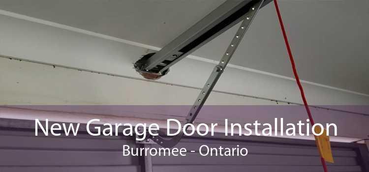 New Garage Door Installation Burromee - Ontario