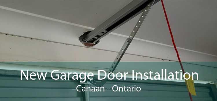 New Garage Door Installation Canaan - Ontario