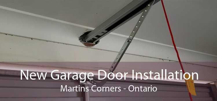 New Garage Door Installation Martins Corners - Ontario