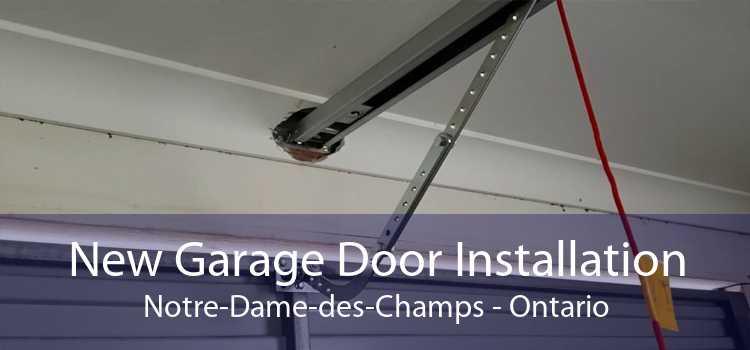 New Garage Door Installation Notre-Dame-des-Champs - Ontario
