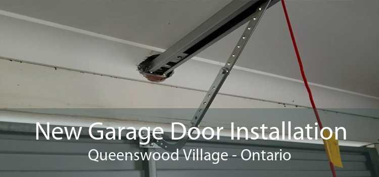 New Garage Door Installation Queenswood Village - Ontario