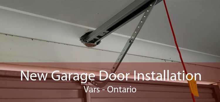 New Garage Door Installation Vars - Ontario
