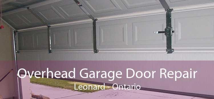 Overhead Garage Door Repair Leonard - Ontario