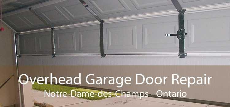 Overhead Garage Door Repair Notre-Dame-des-Champs - Ontario