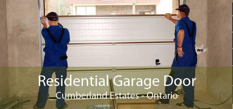 Residential Garage Door Cumberland Estates - Ontario