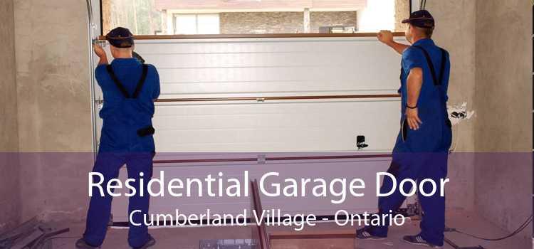 Residential Garage Door Cumberland Village - Ontario