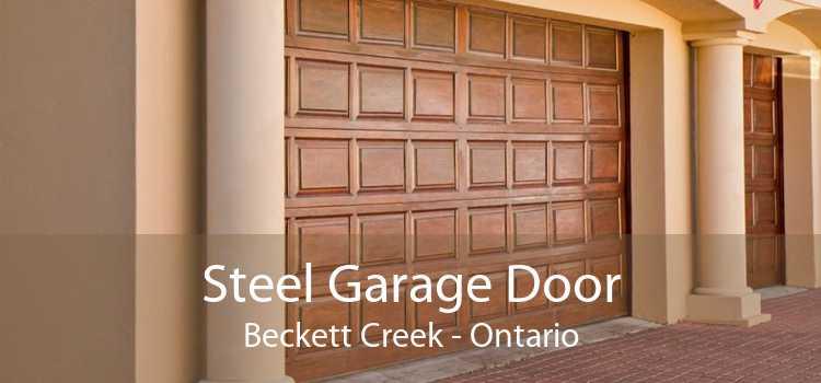 Steel Garage Door Beckett Creek - Ontario