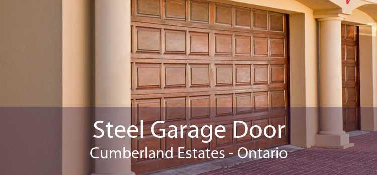 Steel Garage Door Cumberland Estates - Ontario