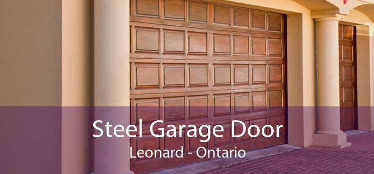 Steel Garage Door Leonard - Ontario