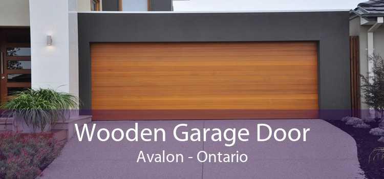 Wooden Garage Door Avalon - Ontario