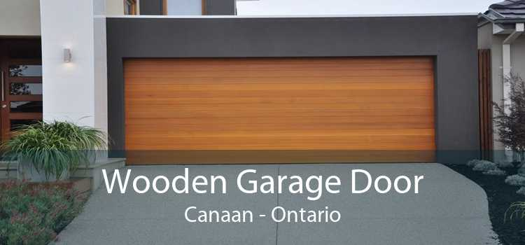 Wooden Garage Door Canaan - Ontario