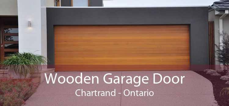 Wooden Garage Door Chartrand - Ontario