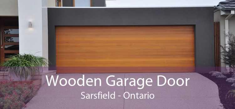Wooden Garage Door Sarsfield - Ontario