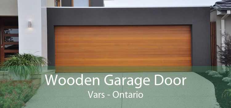 Wooden Garage Door Vars - Ontario